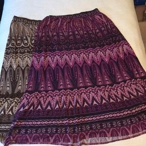 Set of Maxi Skirts
